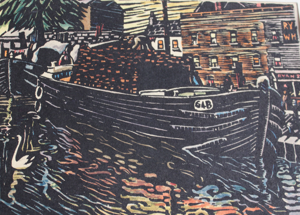 Harry Kernoff Portobello Harbour Detail 1940